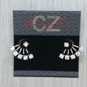 NWT - CZ Kenneth Jay Lane Earrings